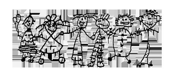 St Kilda & Balaclava Kindergarten, drawing of children