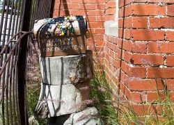 St Kilda & Balaclava Kindergarten, Mailbox Decorated By Children.